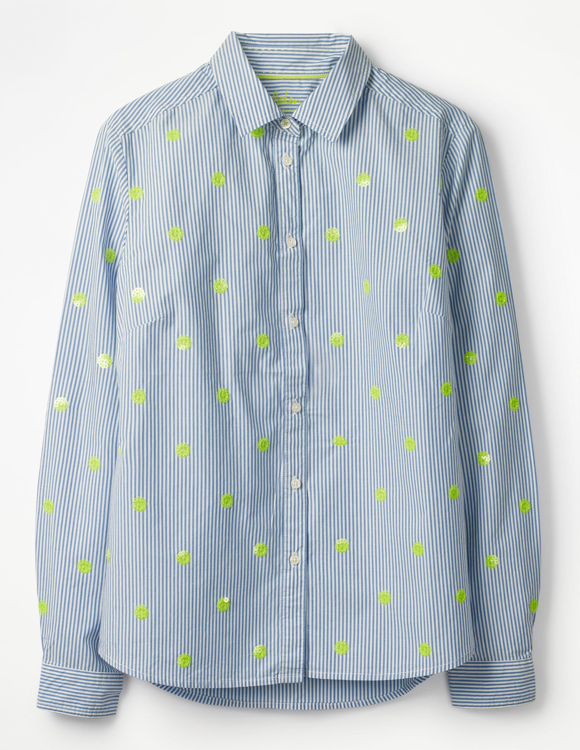 La chemise classique Blue Femme Boden