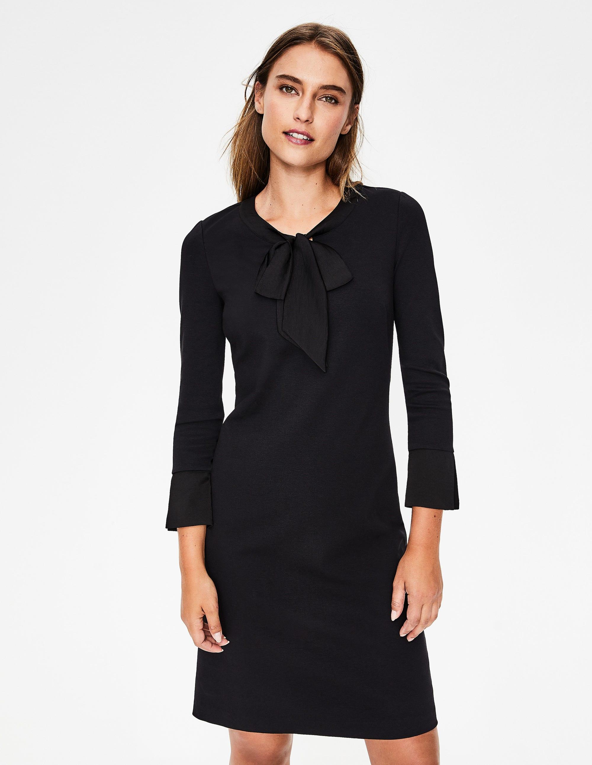 f093ffbae7 Josie Ponte Dress - Black