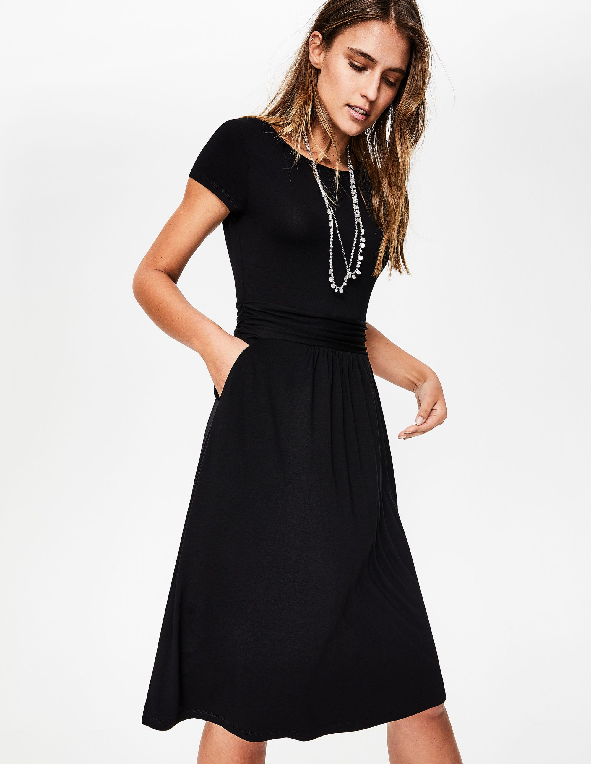 a5c1e13ac Amelie Jersey Dress - Black