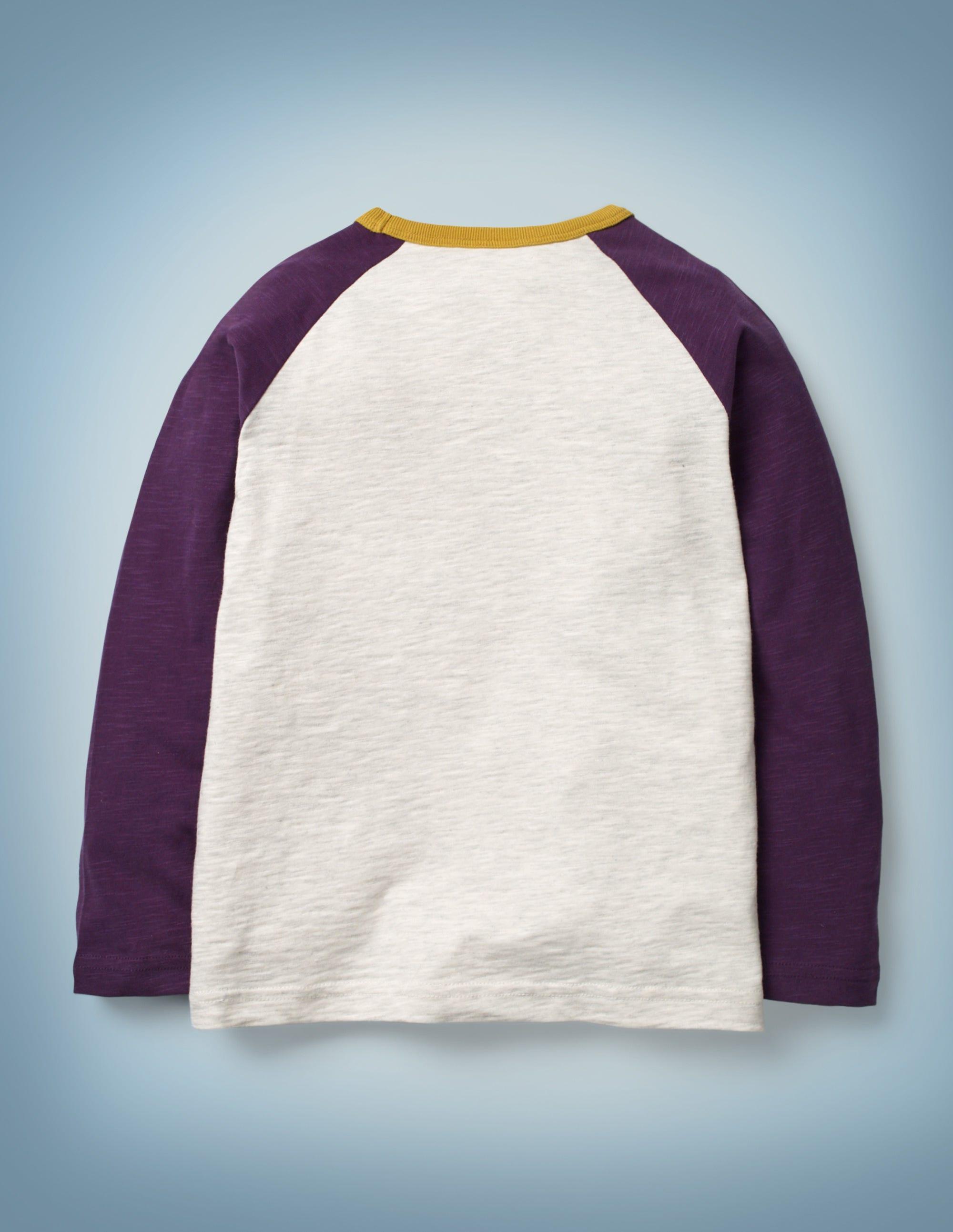 Vska Mens Pure Color Blouse Bottom Crewneck Flexible Fit Pullover T-Shirts Purple S
