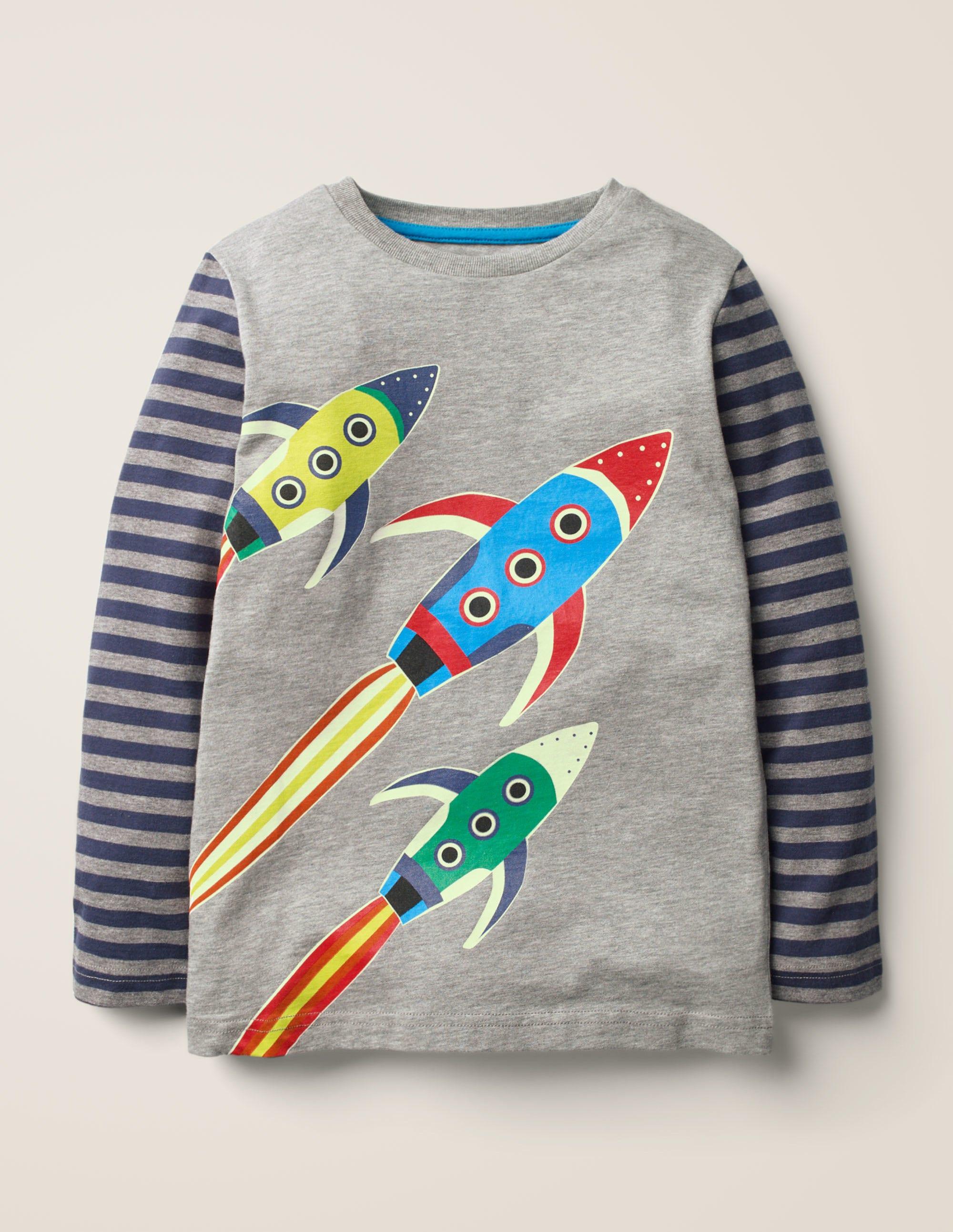 Dark Grey Space Age 11 to 12 years NEW Mini Boden Fun Printed Dress