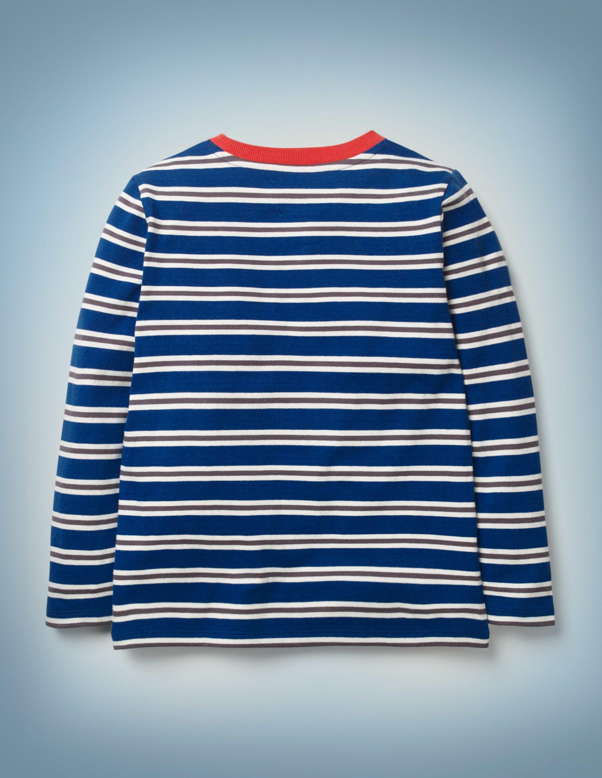 Mini Boden girls  jersey breton rainbow stripe summer dress age 5-16 years