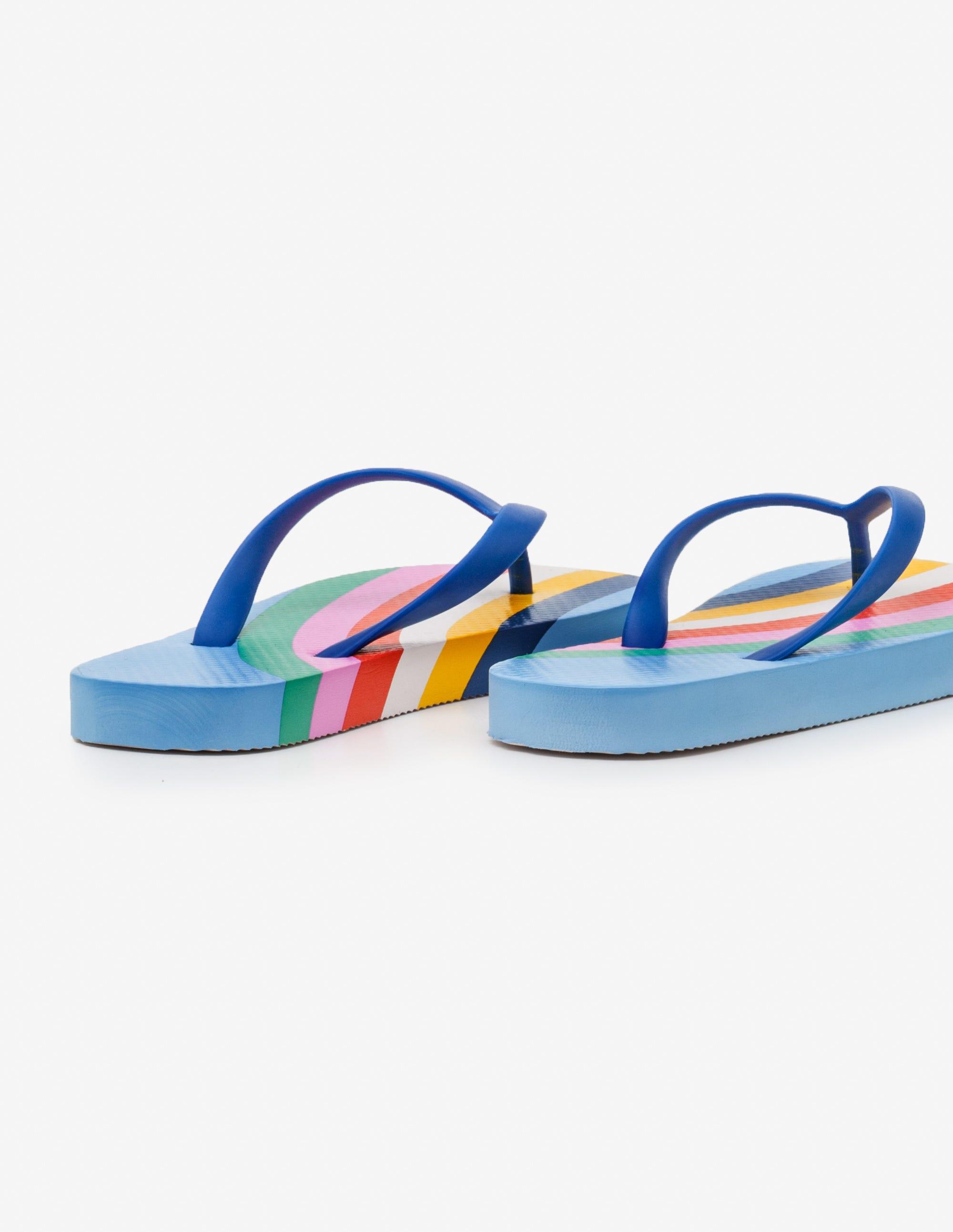 c11ab2e10 Printed Flip-Flops - Duke Blue
