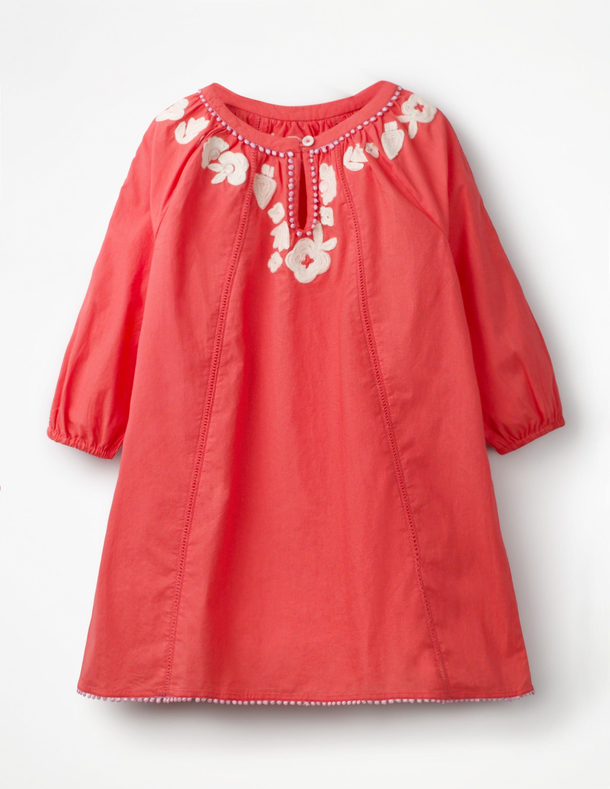 88671da588 Embroidered Kaftan - Jam Red   Boden US