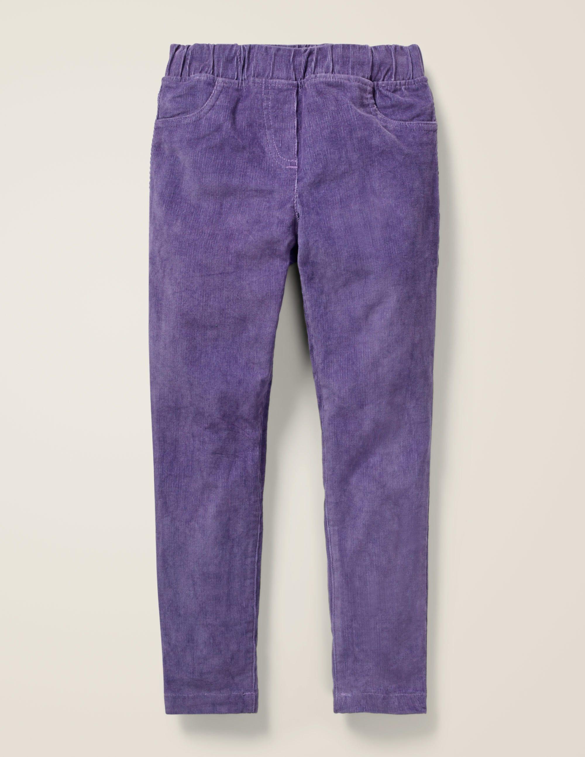 Legging en velours côtelé PRP Fille Boden, Purple
