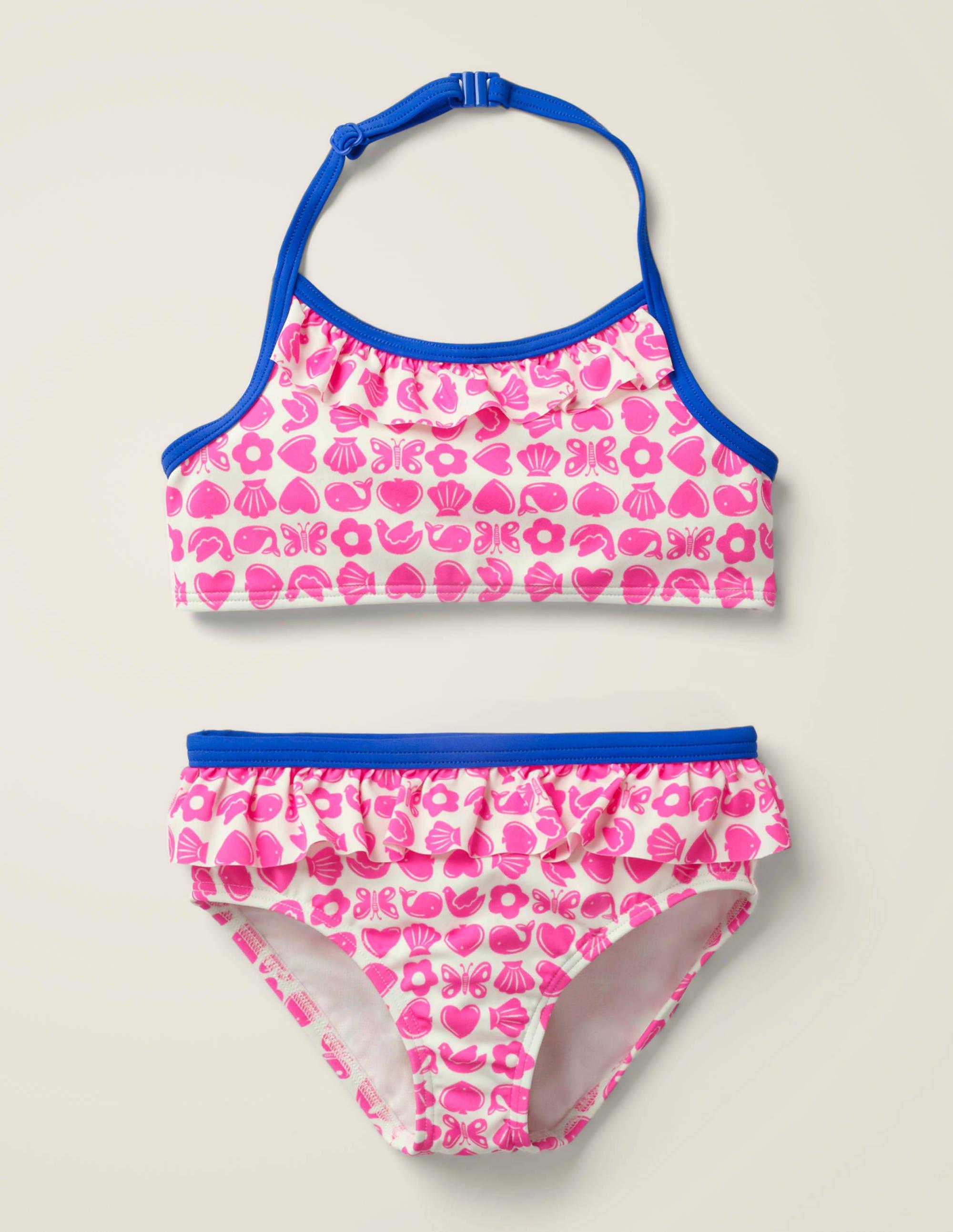 Bikini dos-nu PNK Fille Boden, Pink