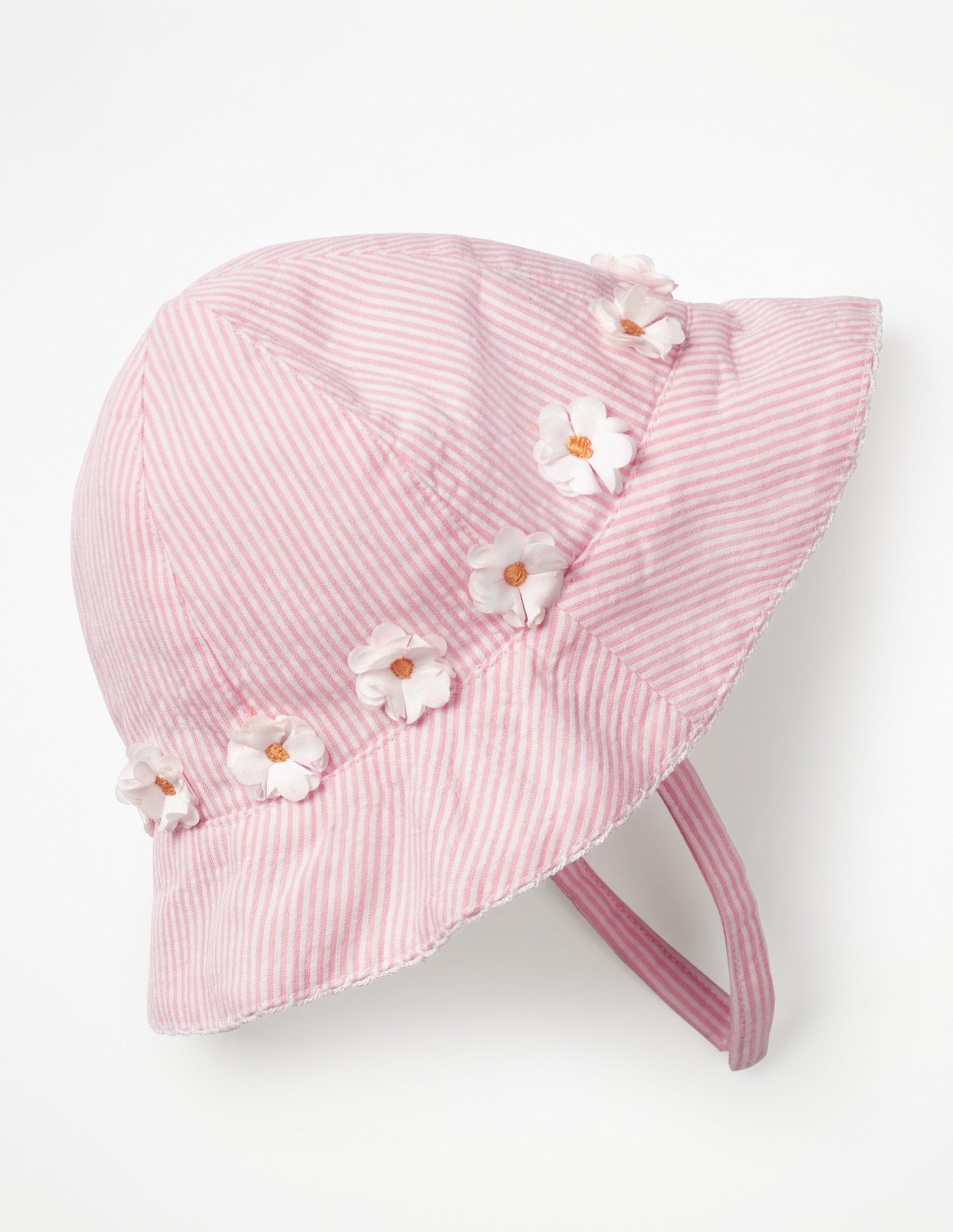 Joli chapeau tissé PNK Bébé Boden, Pink