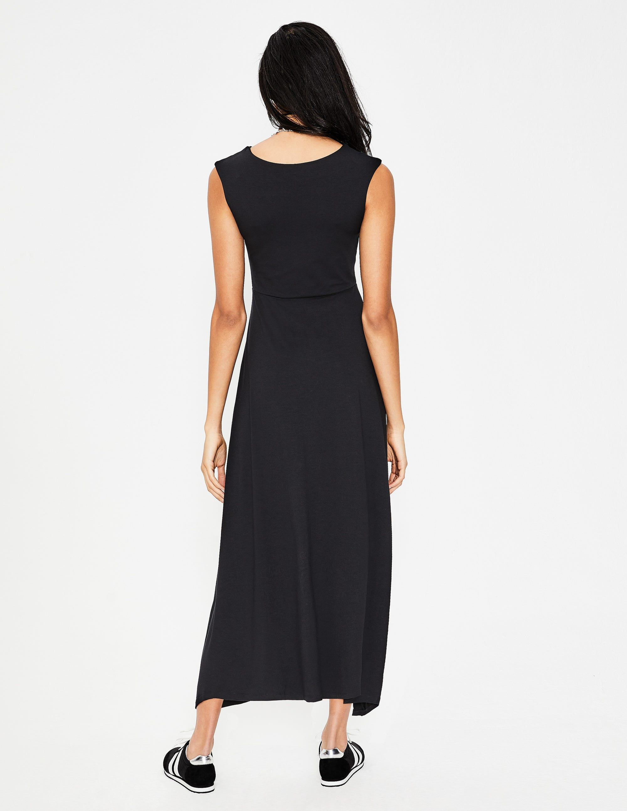 cd1de77690 Polly Jersey Midi Dress - Black