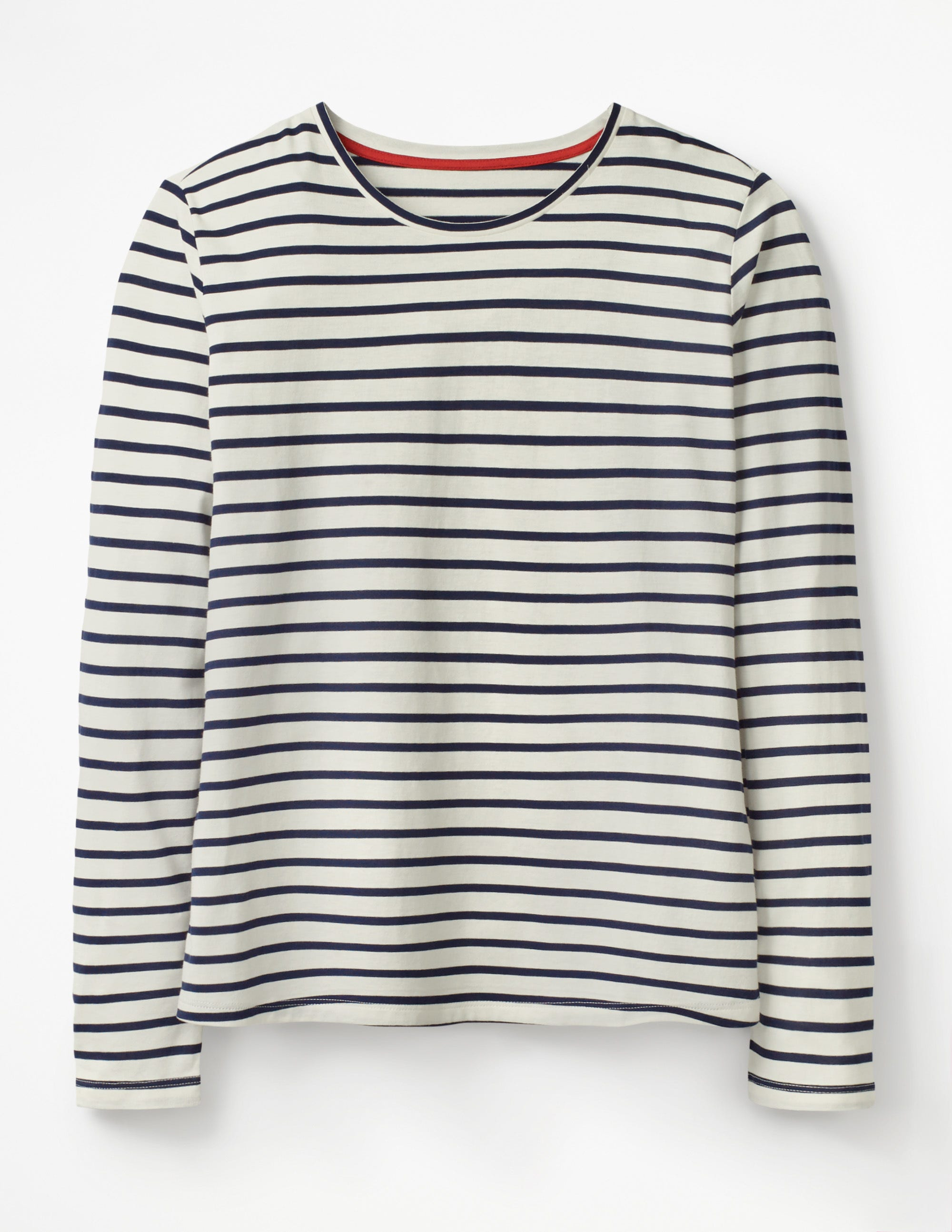 Clothing, Shoes & Accessories Boden Sweater Size 6 Color Block Black White Soft Pullover Cotton Long Sleeve Women's Clothing
