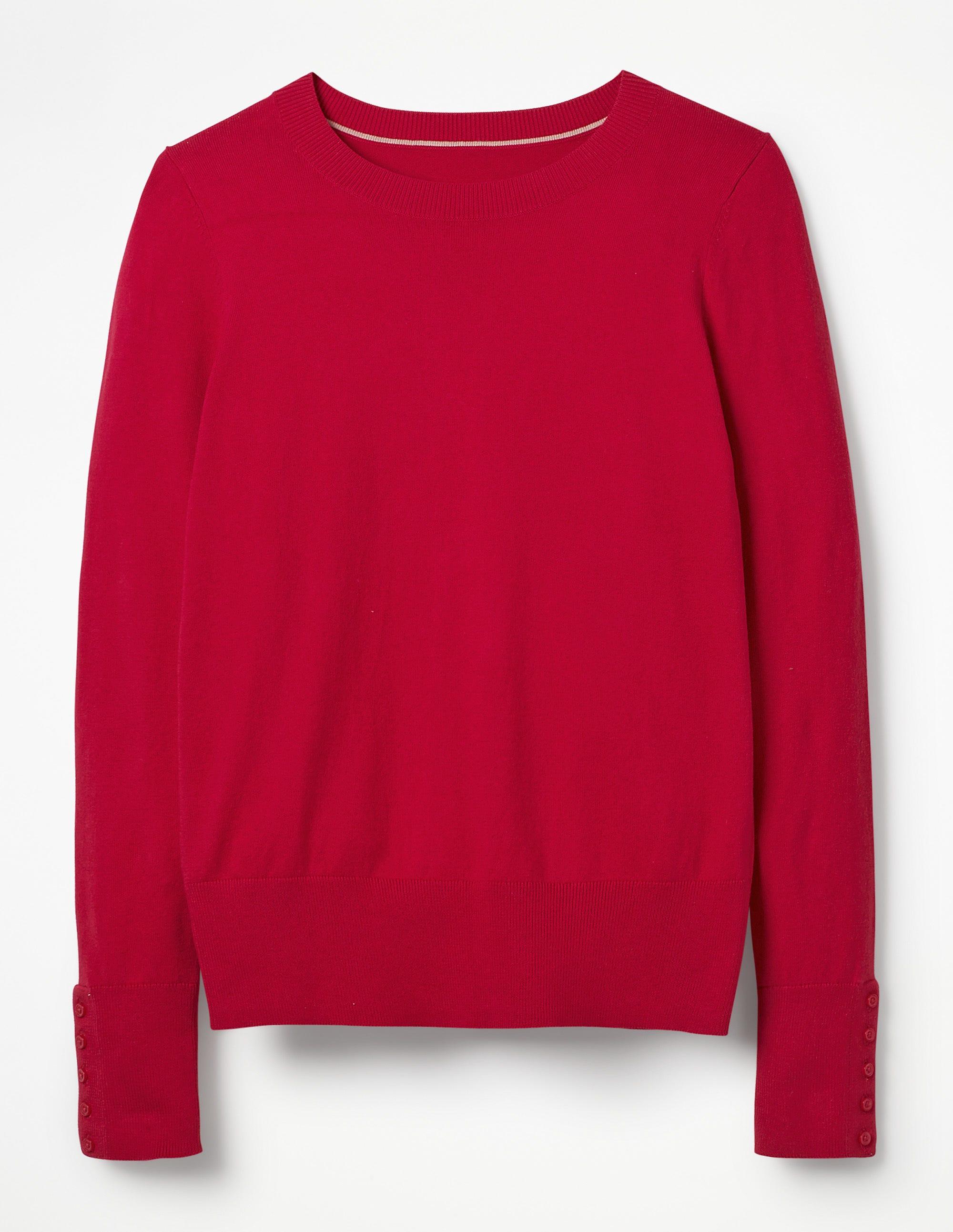 06bd1307c10db8 Tilda Crew Neck Sweater - Black | Boden US