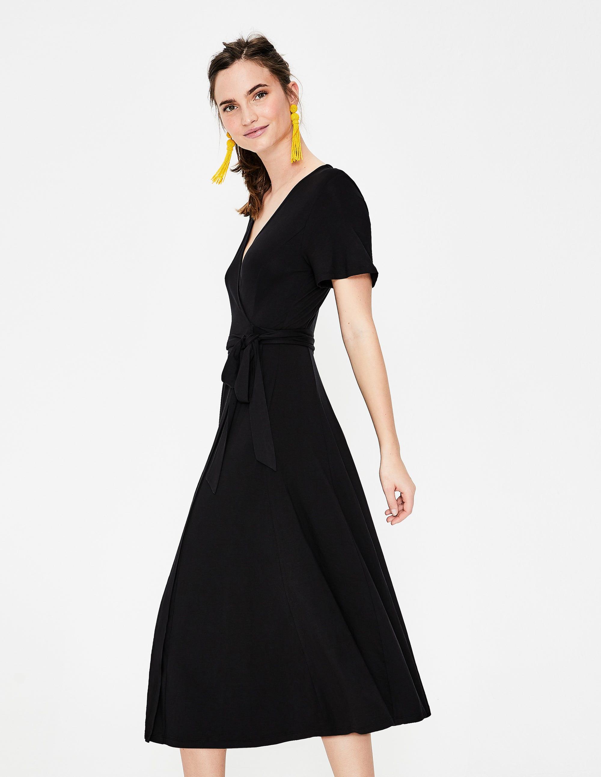 c769e1d4aa0 Cassia Jersey Midi Dress - Black