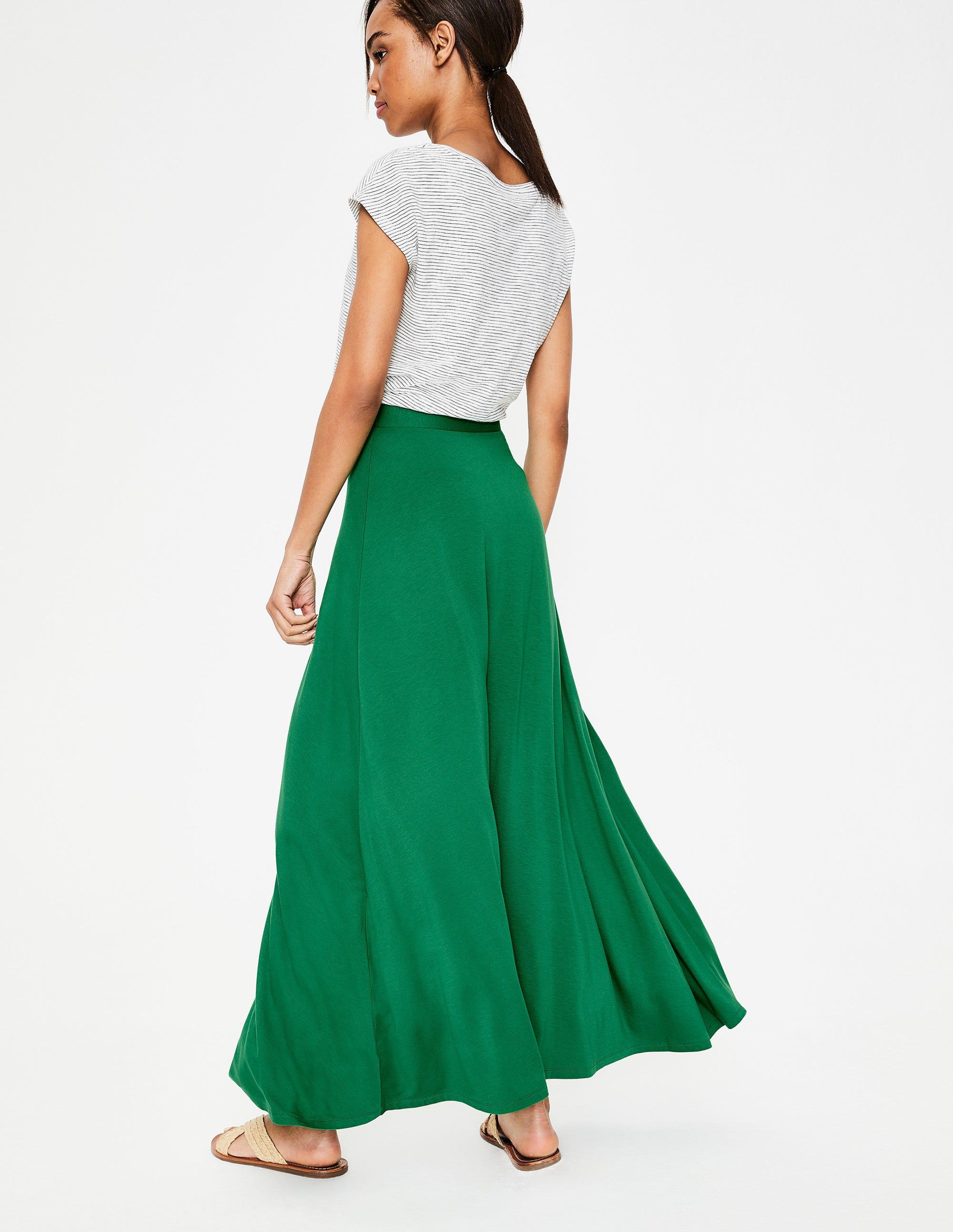 057f1c1f3 Albany Jersey Maxi Skirt - Black | Boden UK
