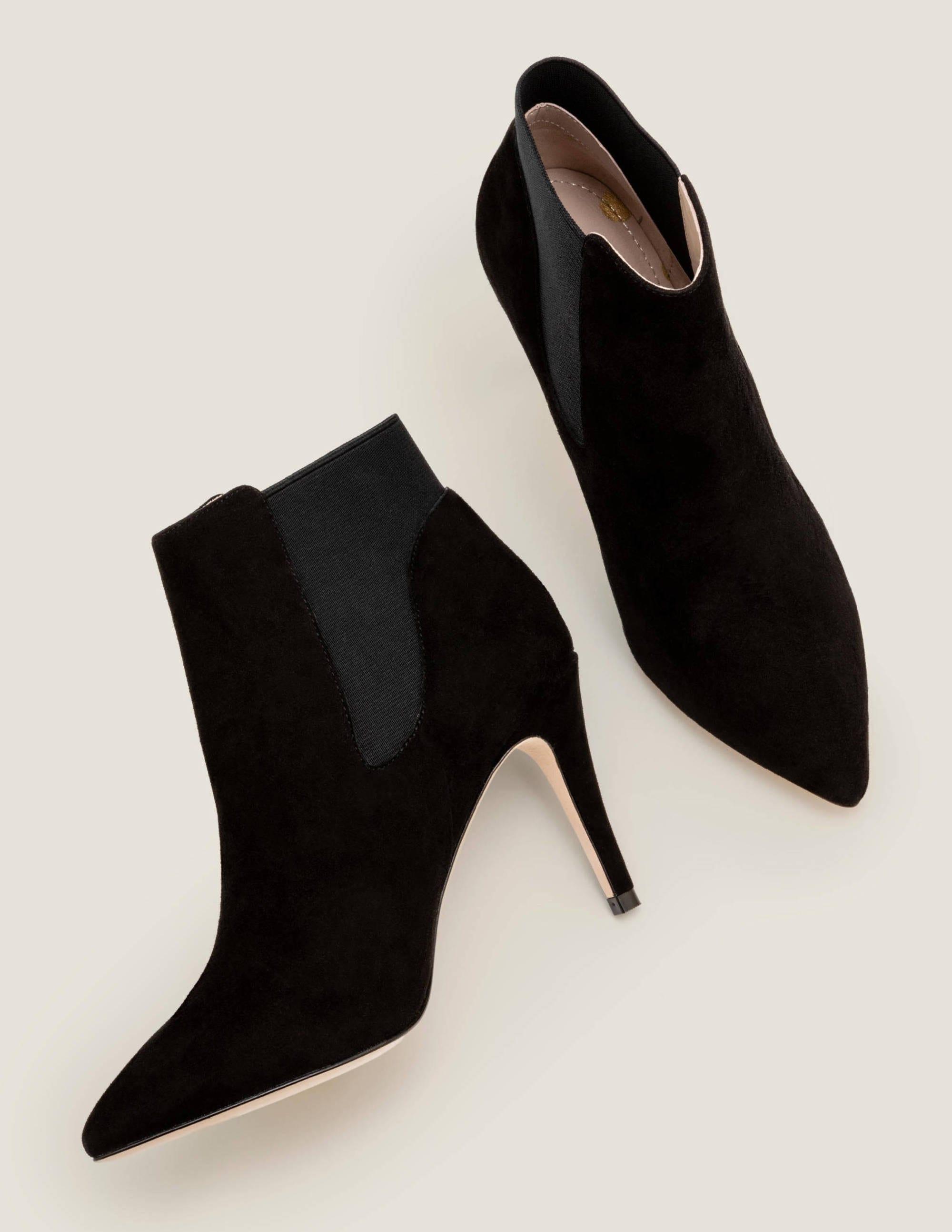 Elsworth Ankle Boots Black Boden Au