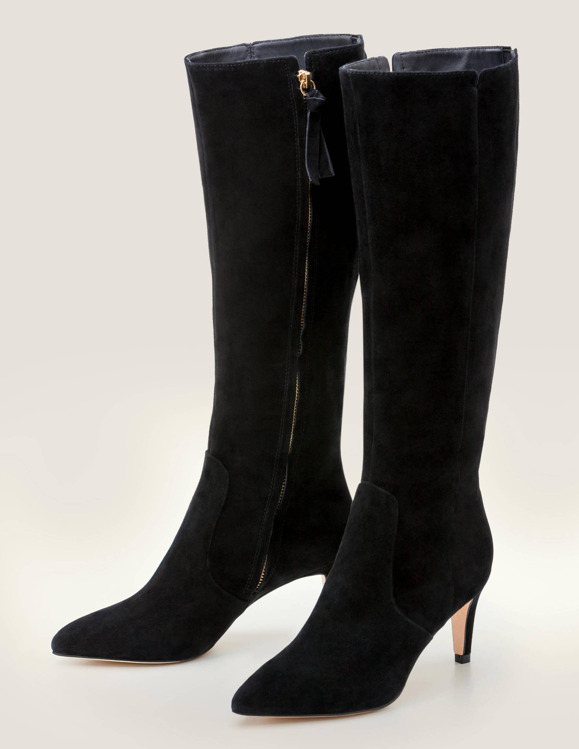 Kenton Knee High Boots Black