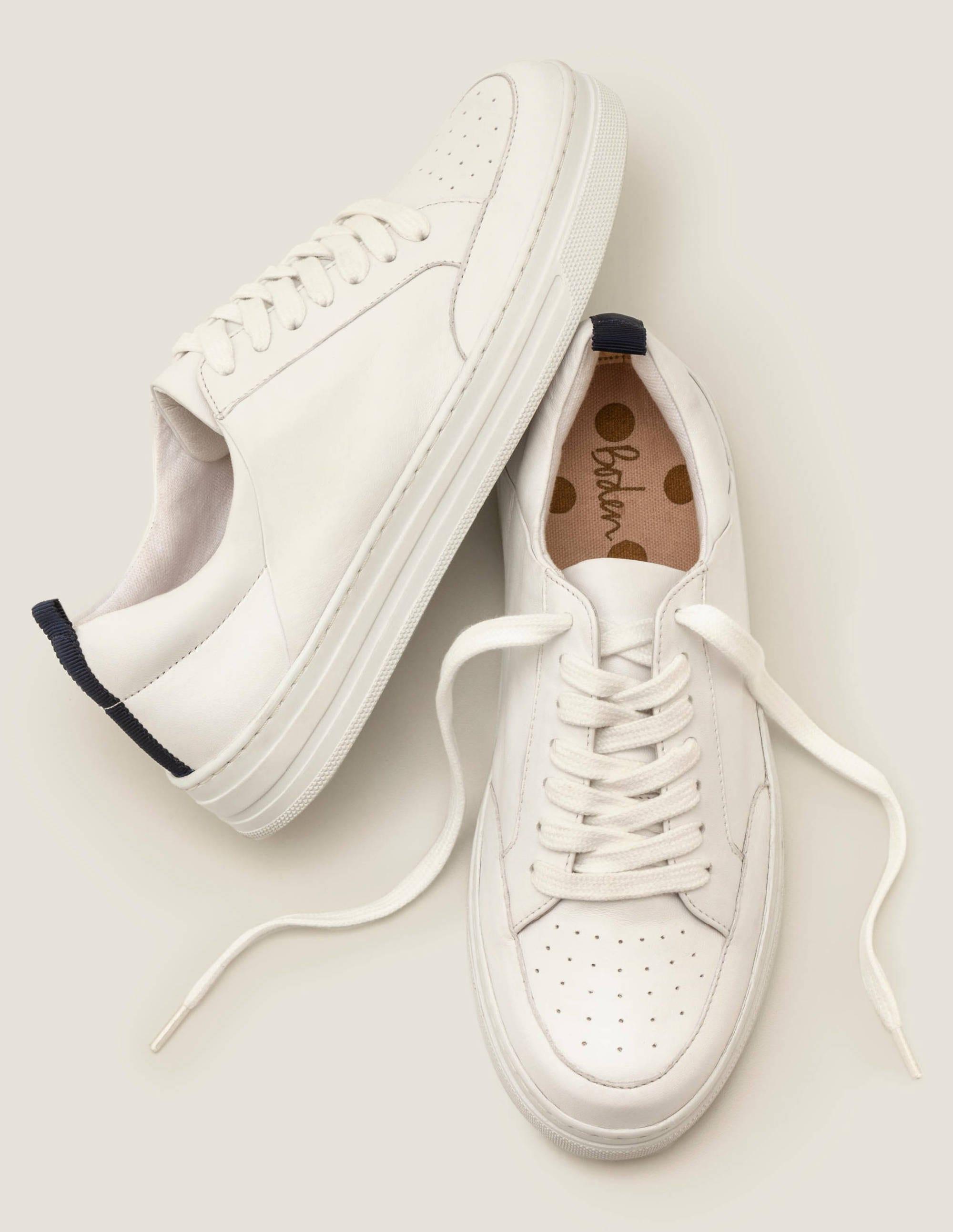 Emily Sneakers - Gold Metallic | Boden US
