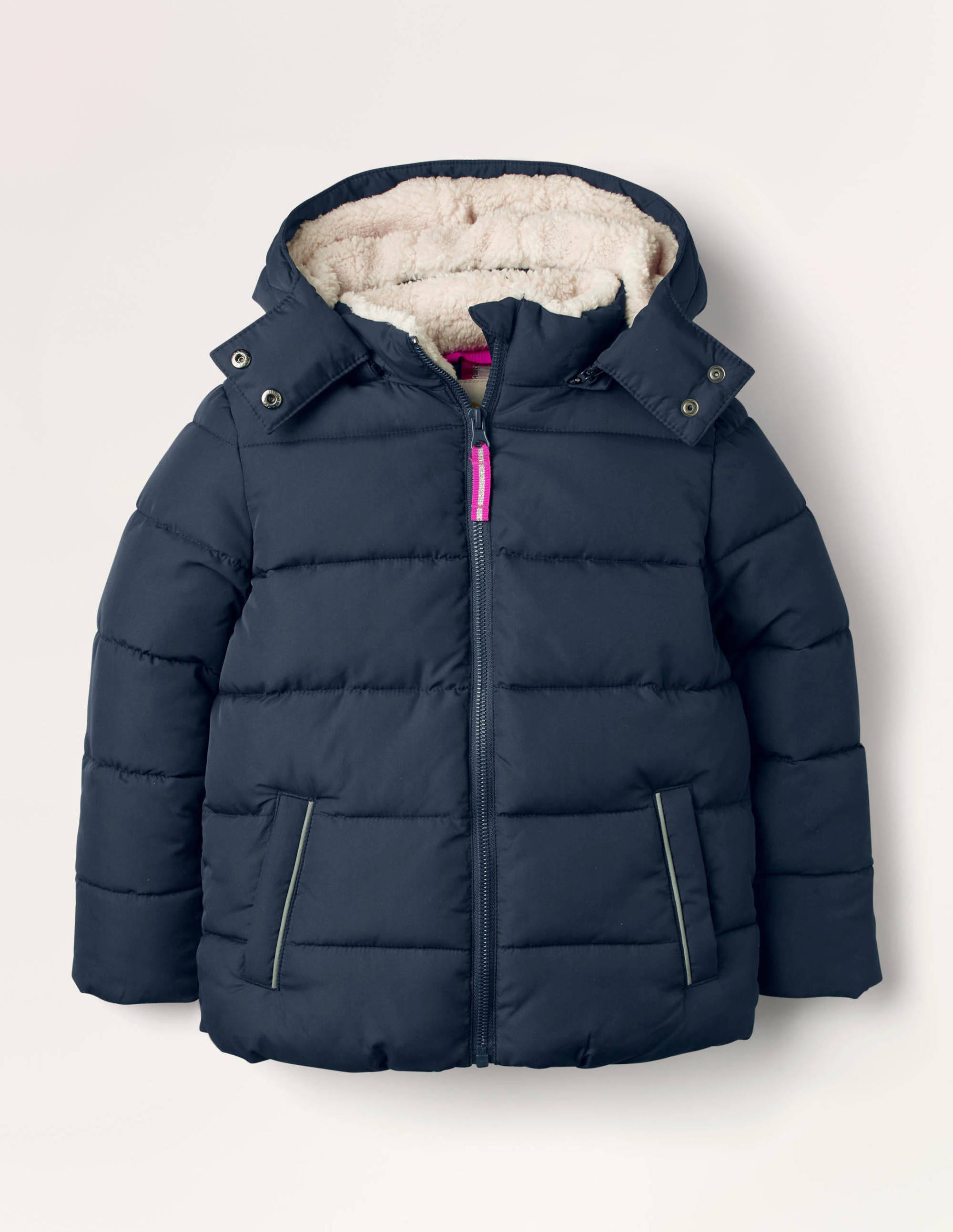 Boden Cosy Padded Jacket - College Navy