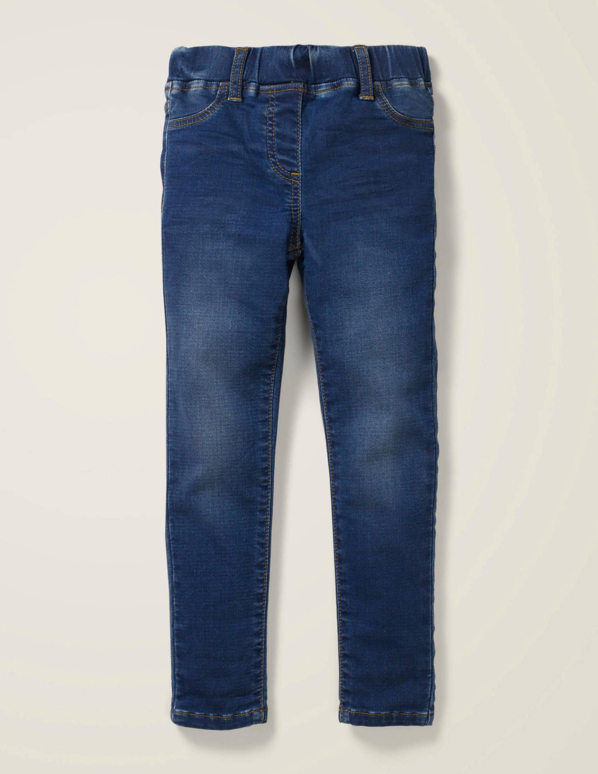 Legging taillé pour l'aventure en jean MDN Fille Boden, Vintage