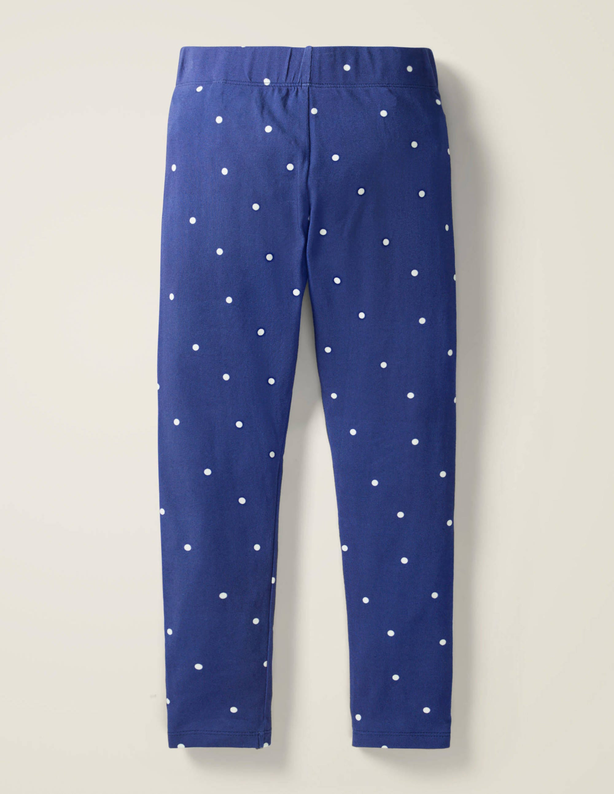 MINI BODEN BABY GIRLS NAVY COSY COTTON ESSENTIAL JERSEY LEGGINGS BRAND NEW