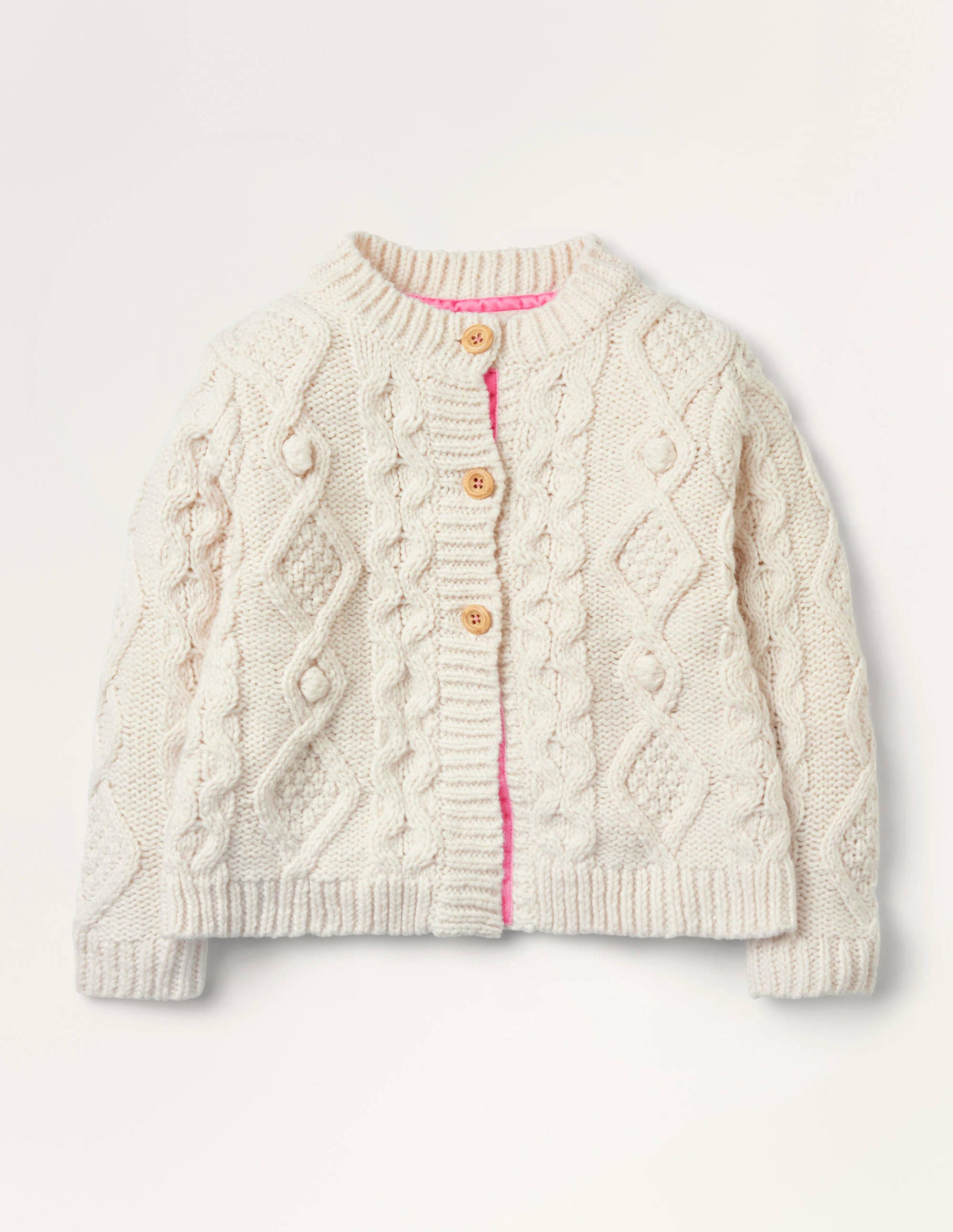 Crochet girls coat with toggle buttons.Age 7 to 8 years old.Free postage to UK
