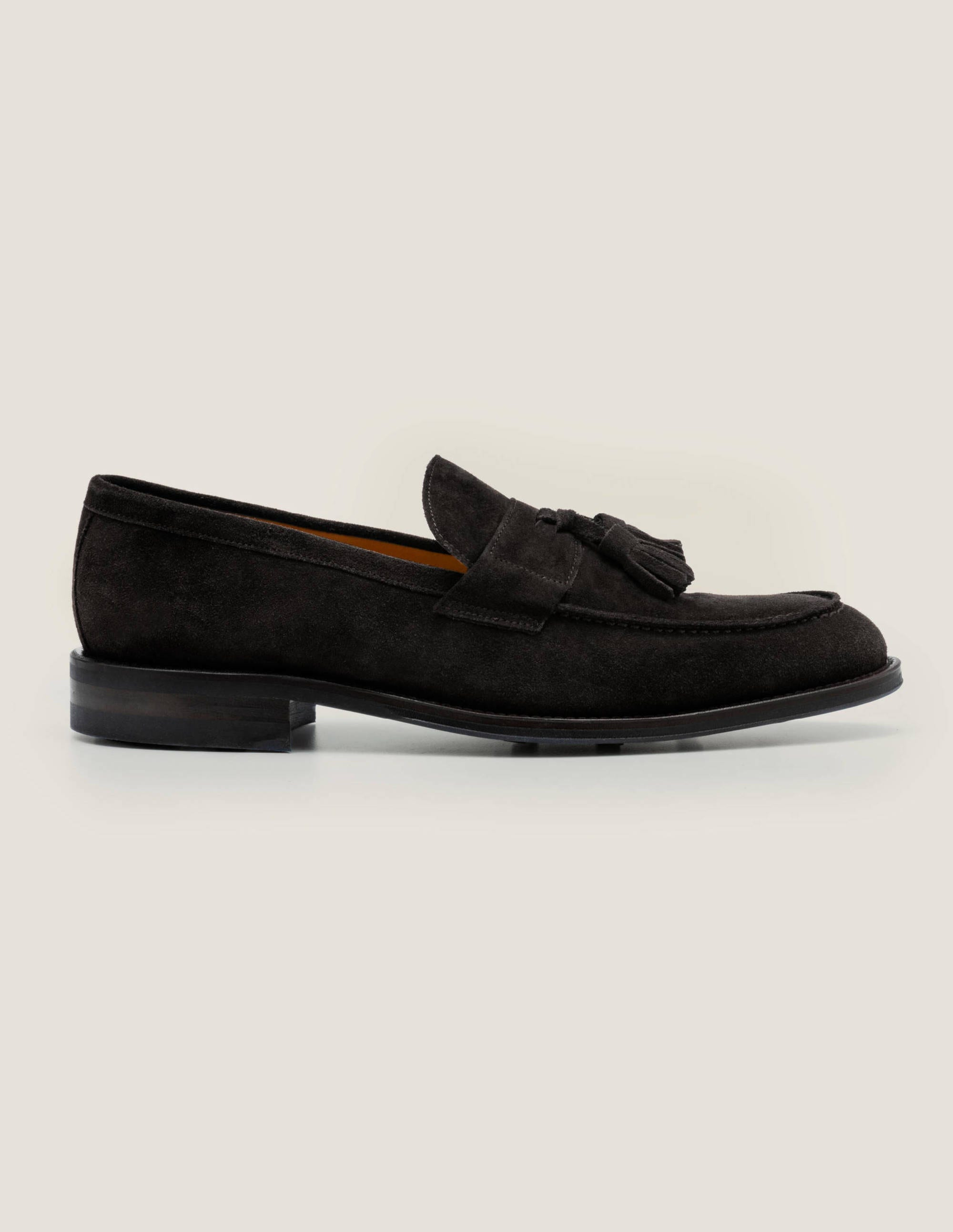 Corby Loafer - Black Suede | Boden US