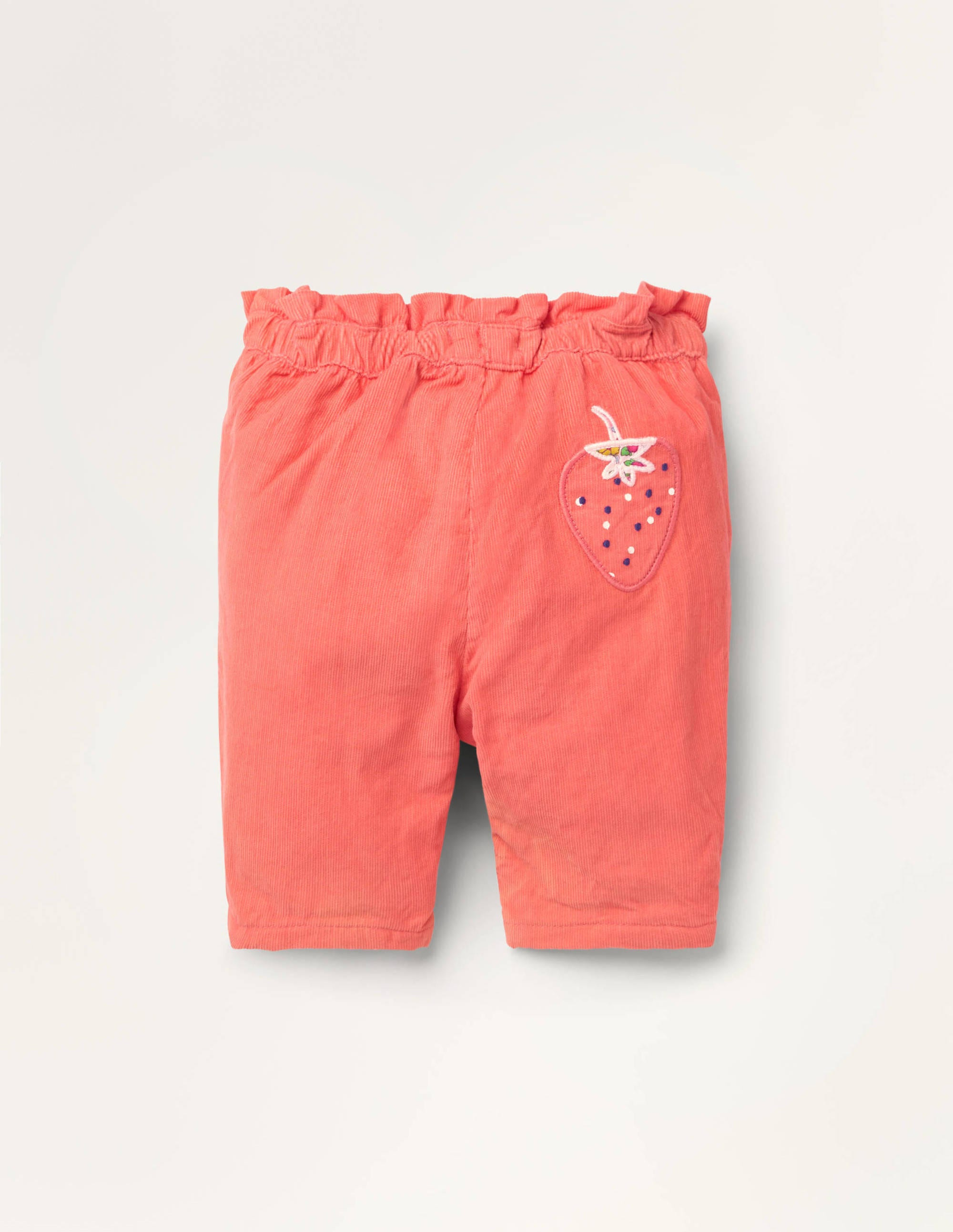 Boden Cord Pull-on Pants - Pale Red