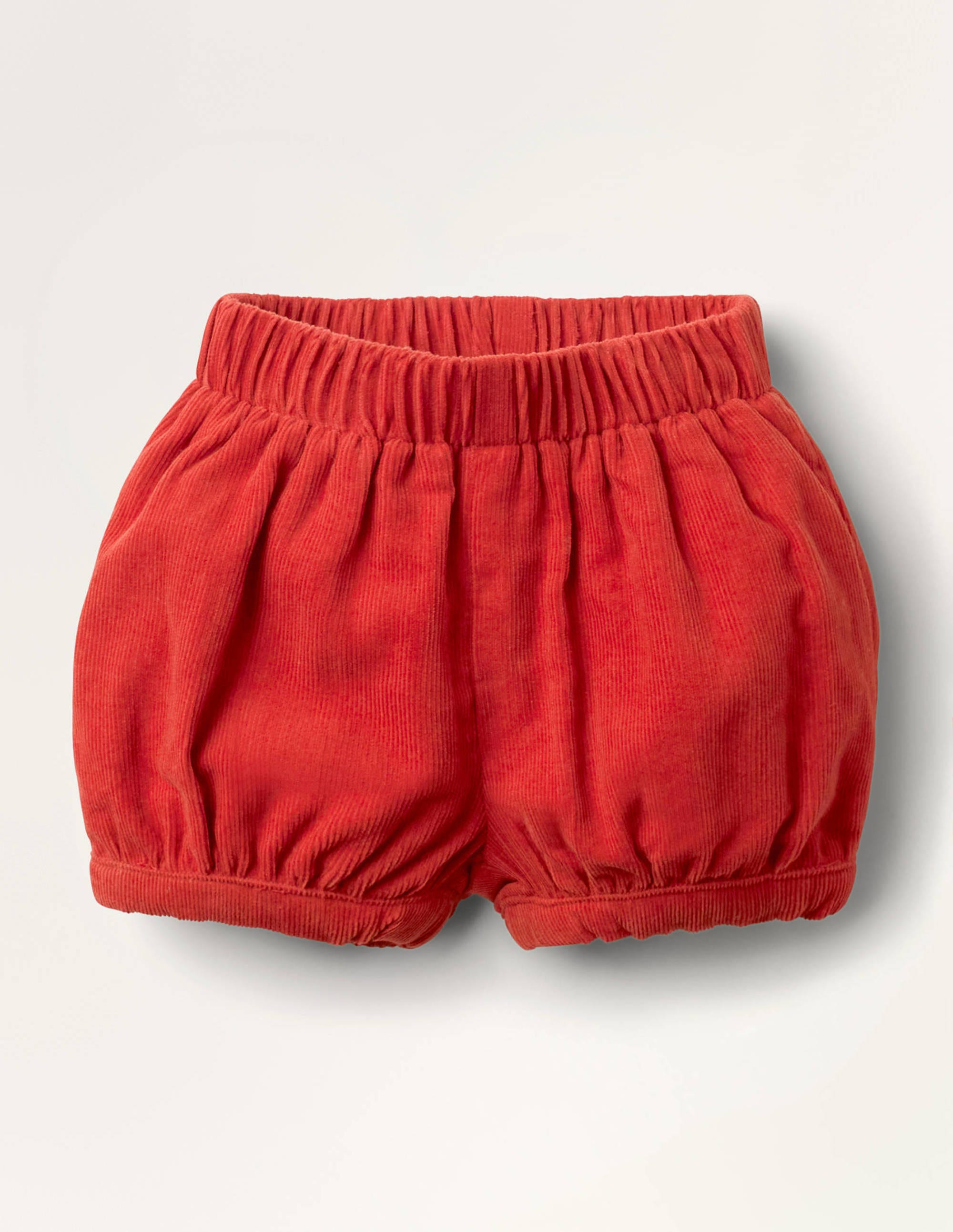 Boden Cord Bloomers - Cherry Tomato Red