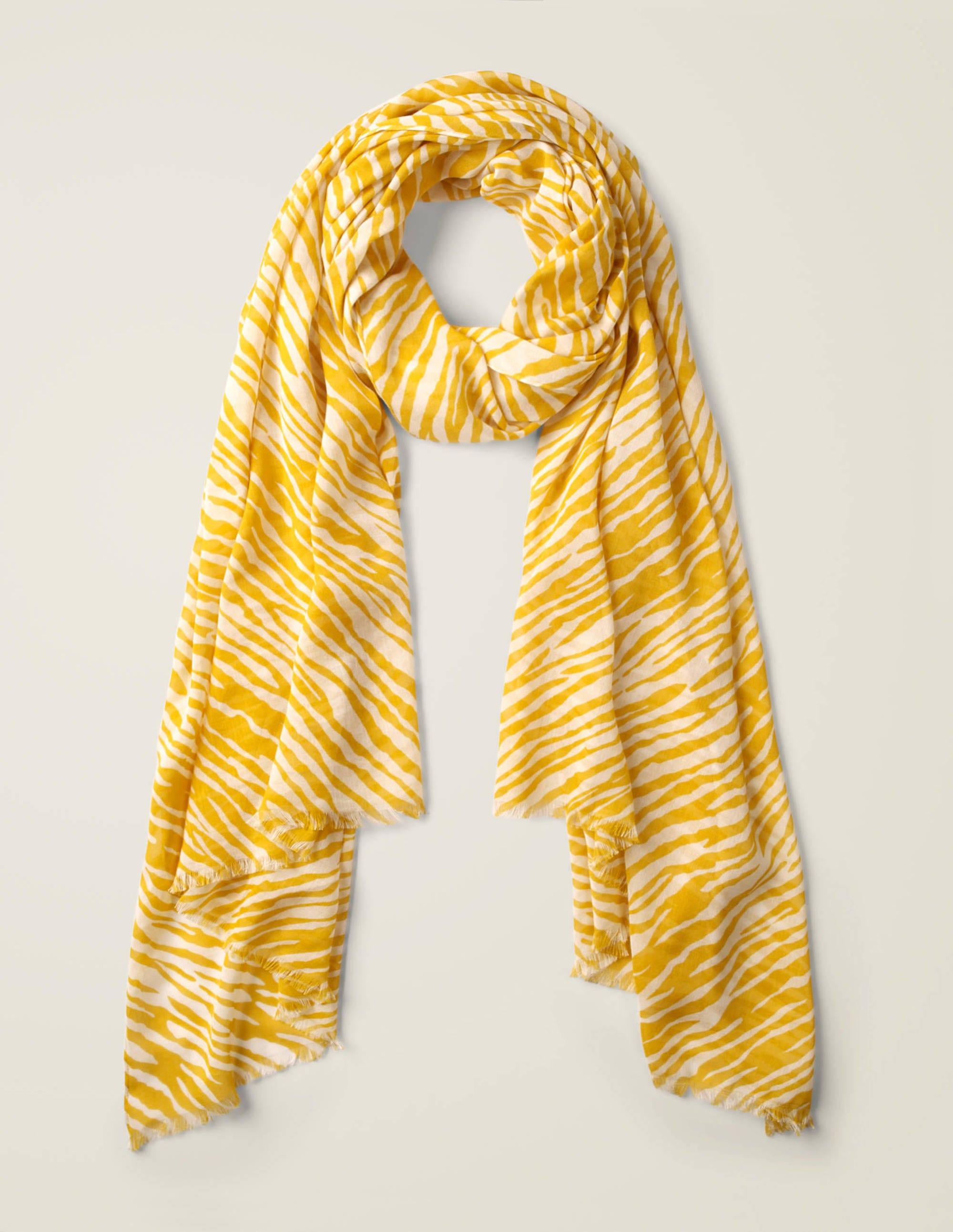 Foulard imprimé DYL Femme Boden, Yellow