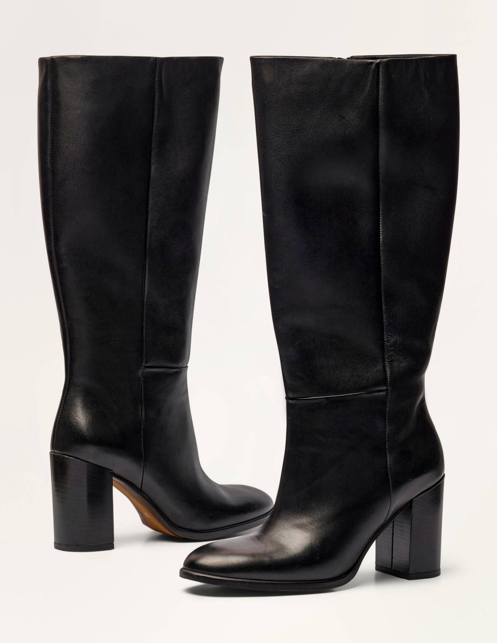 Chichester Knee High Boots - Black