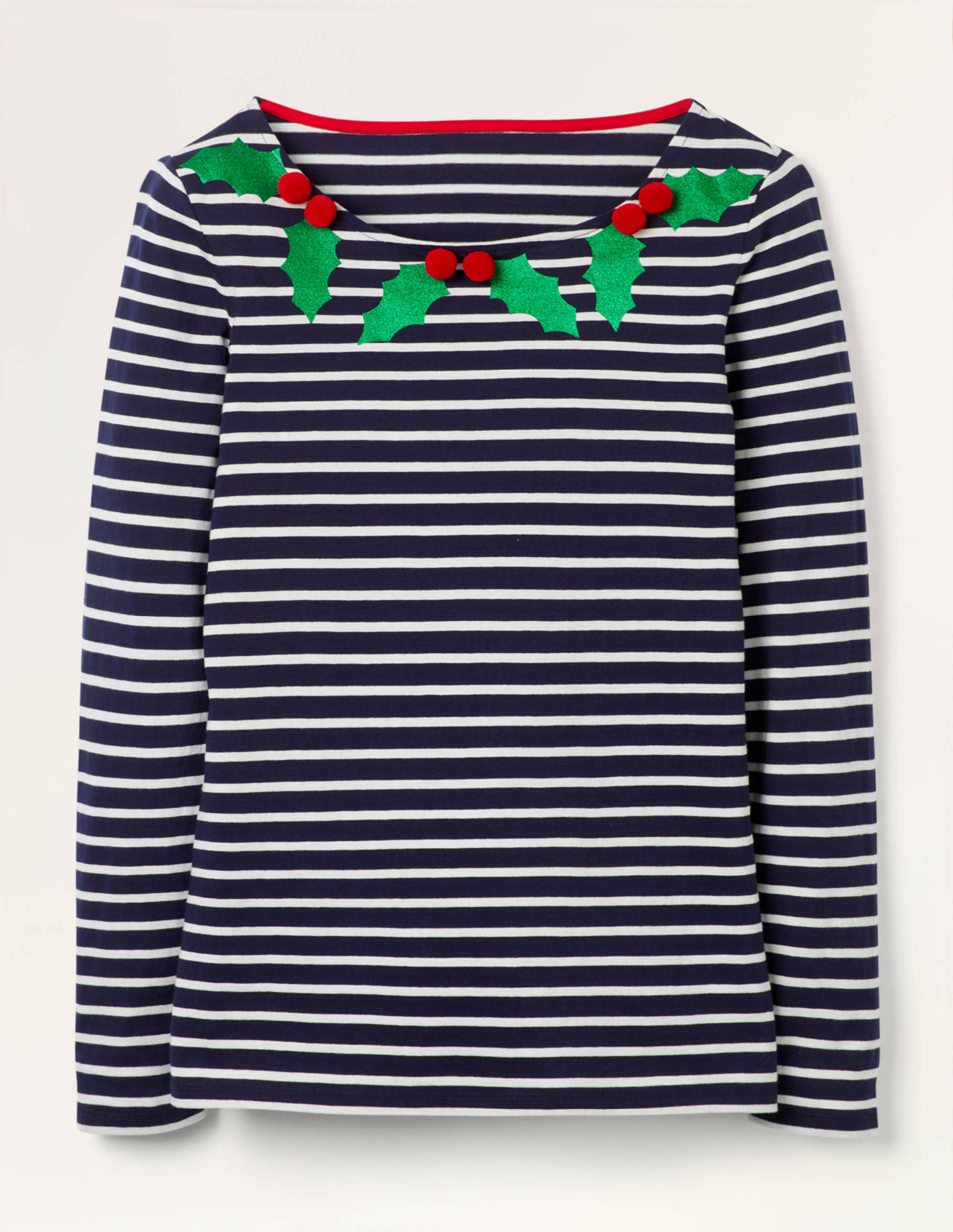 The Christmas Breton Shirt by Boden Clothing | Stay At Home Mum