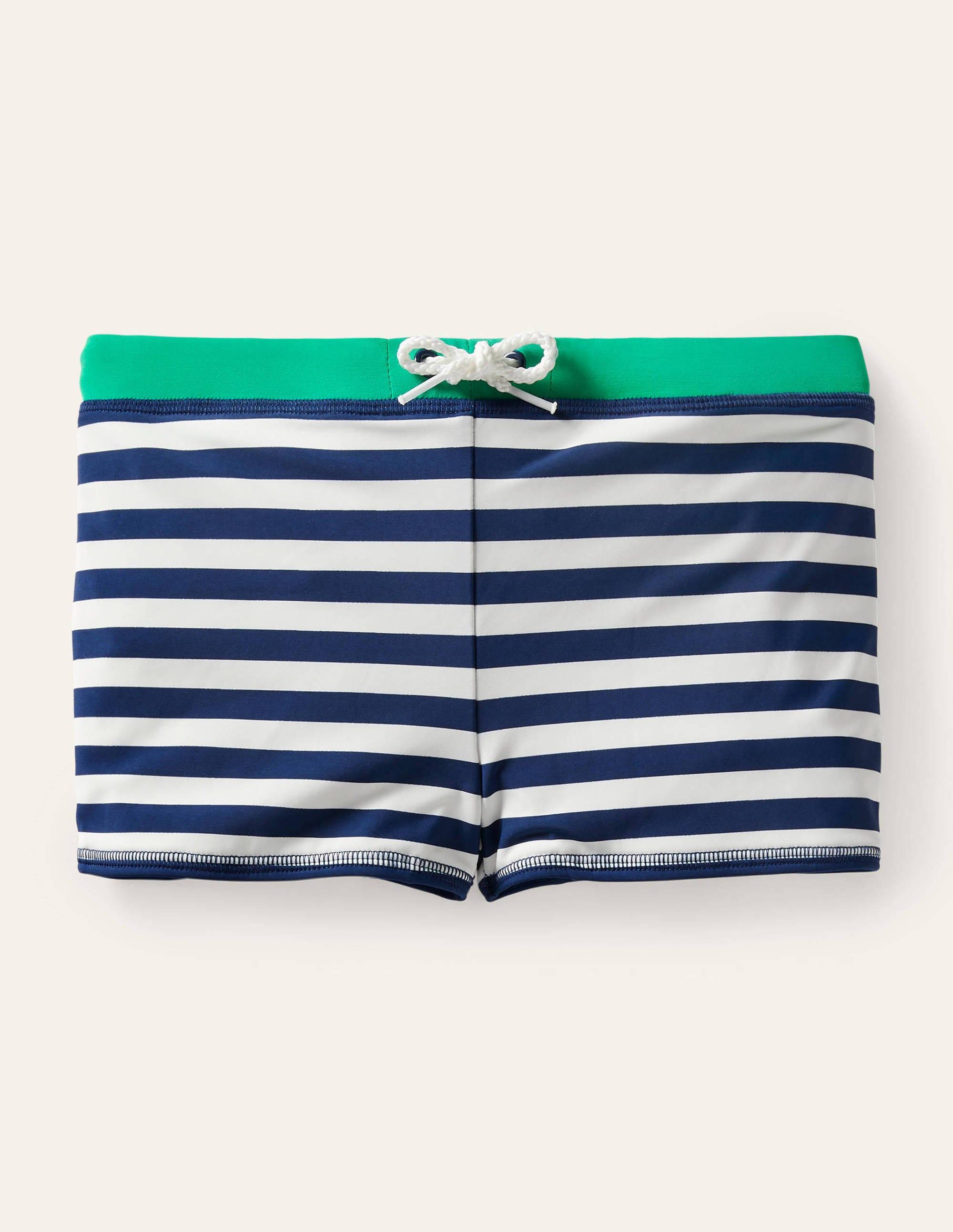 BODEN  blue  swim bikini shorts size 10 NEW AK116