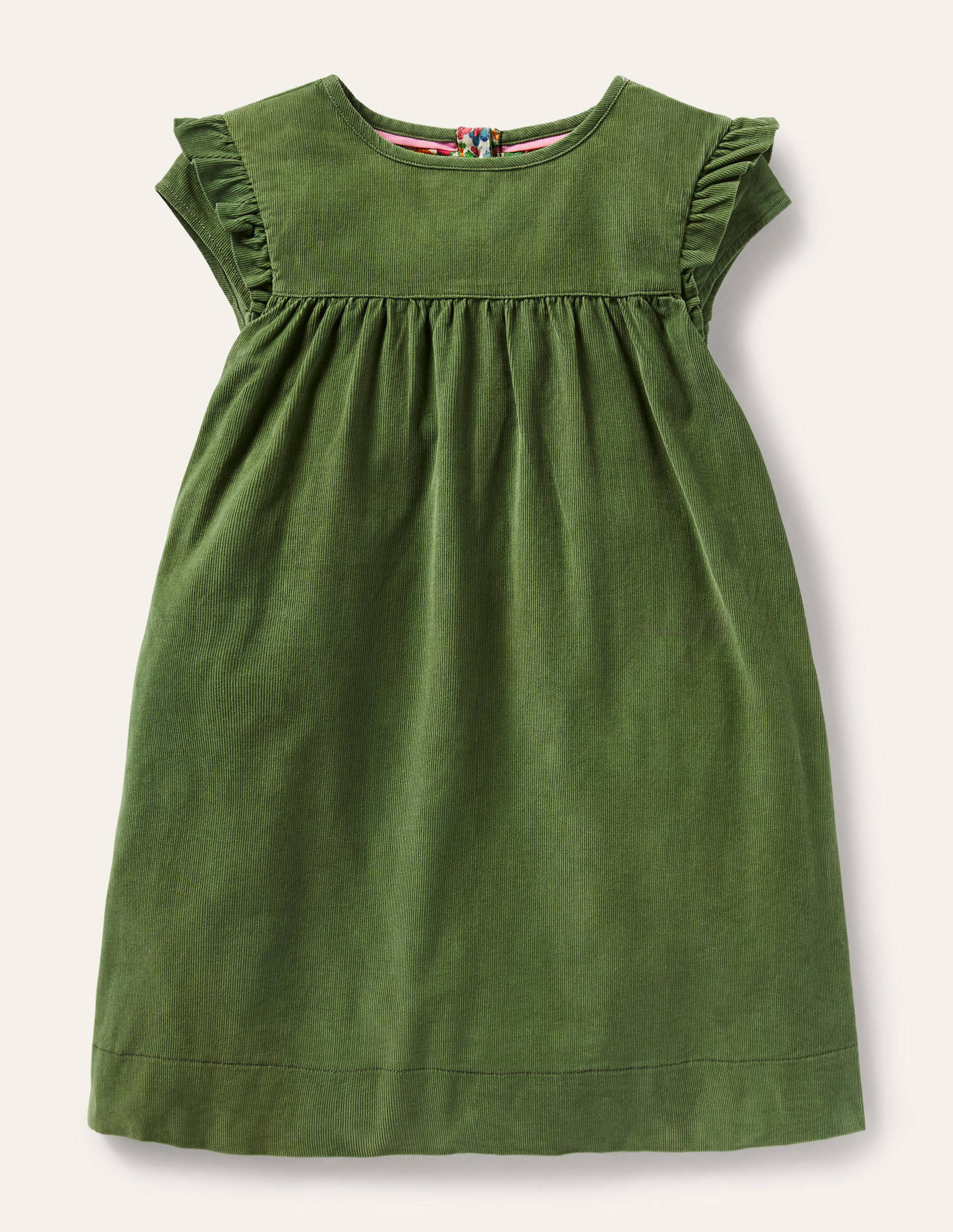Boden Easy Everyday Dress - Willow Green