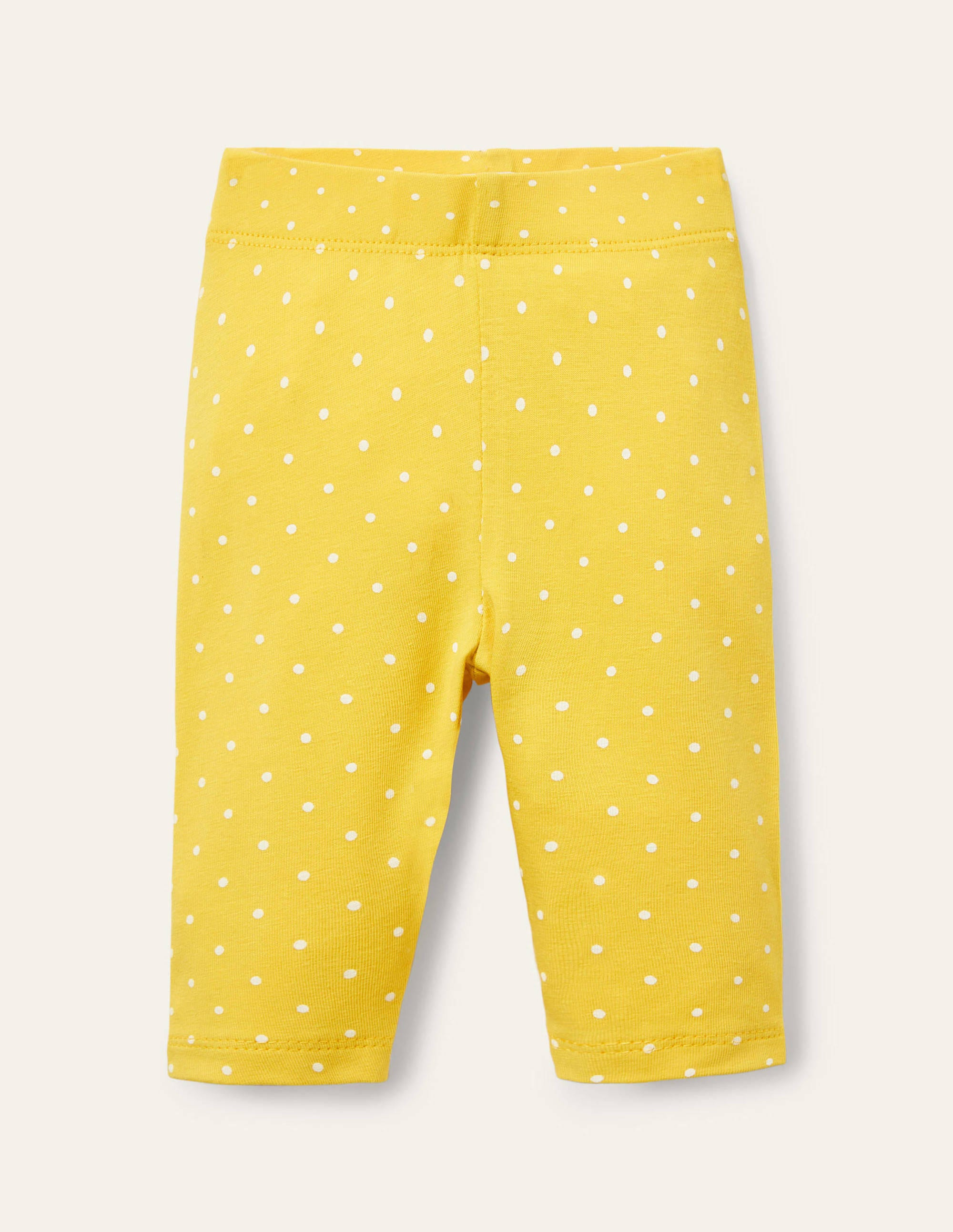 Boden Printed Leggings - Sweetcorn Pin Spot