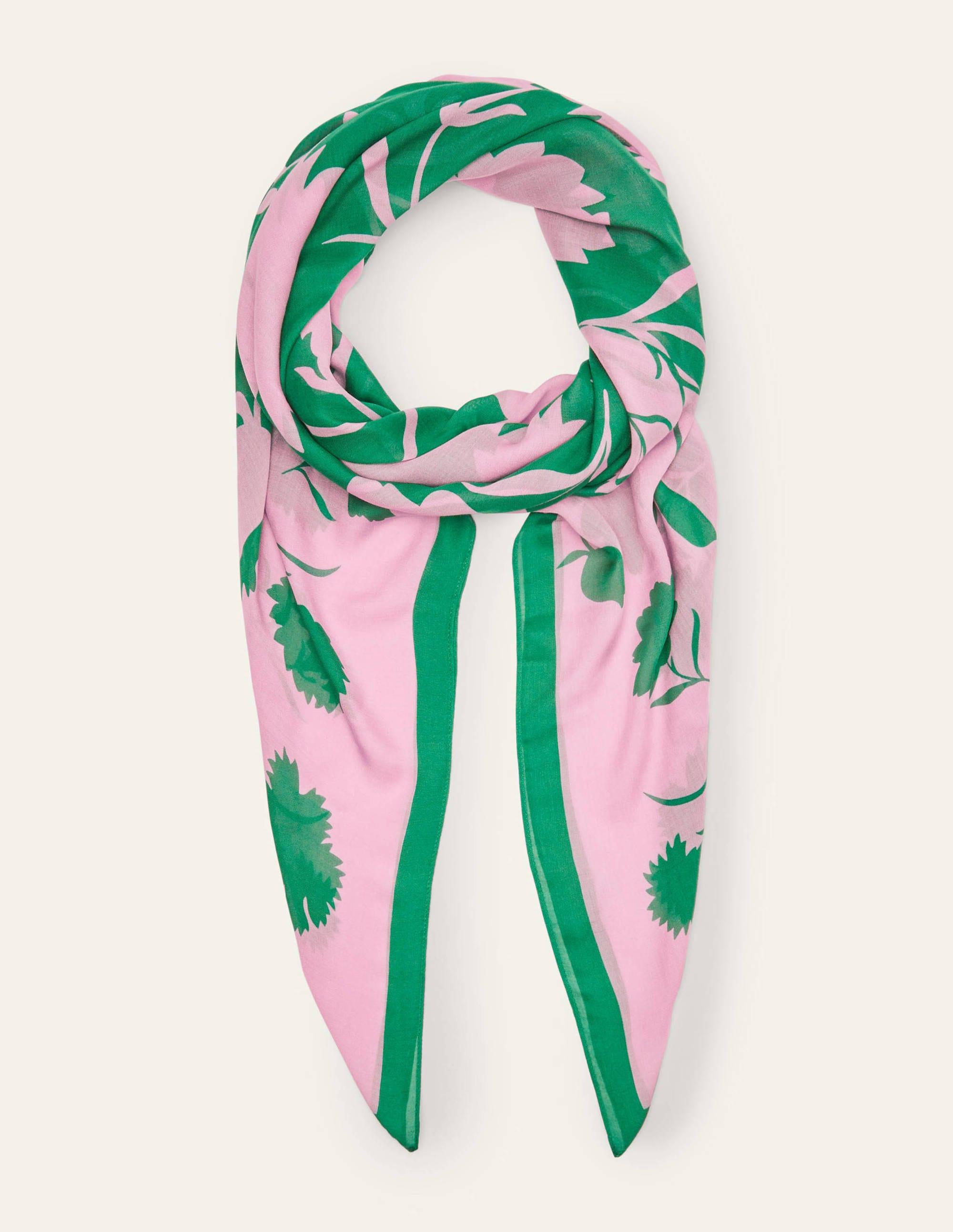 Foulard imprimé MGR Boden Boden, Pink